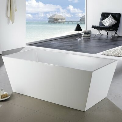 Squadra 63 x 32 Freestanding Soaking Bathtub