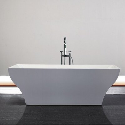 Volta 71 x 32 Freestanding Soaking Bathtub