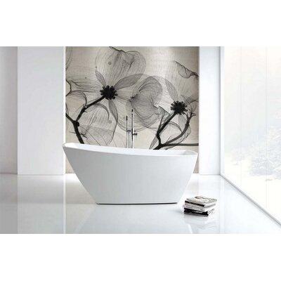 Volta Solato 67 x 32 Freestanding Soaking Bathtub