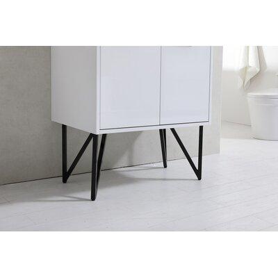 Almaraz 30 Single Bathroom Vanity Set with Mirror