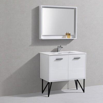 Almaraz 36 Single Bathroom Vanity Set with Mirror
