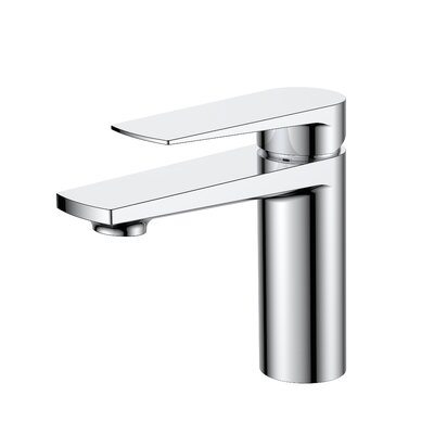 Aqua Letti Single Lever Wide Spread Bathroom Faucet