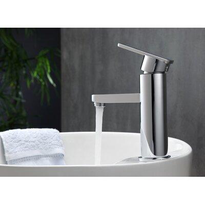 Aqua Roundo Single Hole Mount Bathroom Faucet