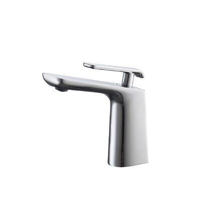 Aqua Adatto Single Lever Bathroom Faucet Finish: Chrome