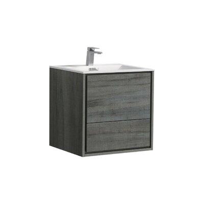 Trieu 24 Single Bathroom Vanity Set Base Finish: Ocean Gray