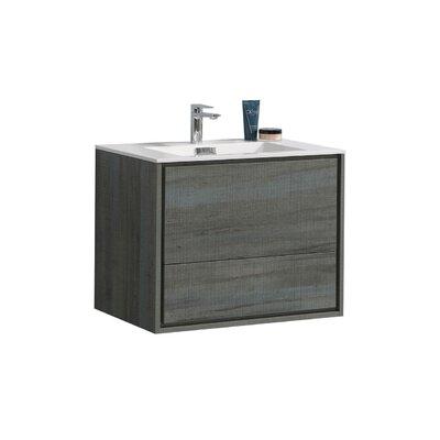 Trieu 30 Single Bathroom Vanity Set Base Finish: Ocean Gray