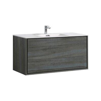 Trieu 48 Single Bathroom Vanity Set Base Finish: Ocean Gray