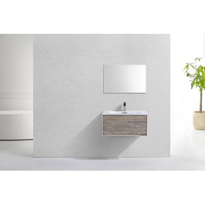 Colton Wall Mount 30 Single Bathroom Vanity