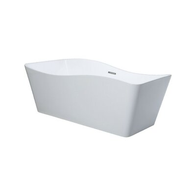 Ondulato 67 x 31 Freestanding Soaking Bathtub