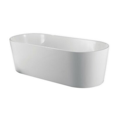 Ovale 63 x 32 Freestanding Soaking Bathtub