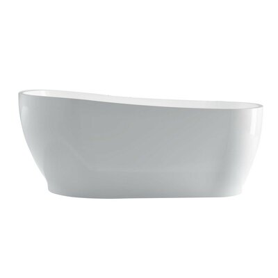 Kono 67 x 33 Freestanding Soaking Bathtub