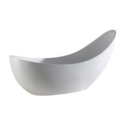 Salto 81 x 31 Freestanding Soaking Bathtub
