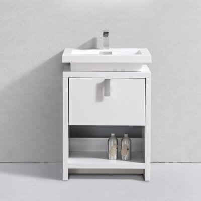 Haycraft 24 Single Bathroom Vanity Set