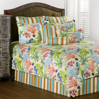 Anna Maria 4 Piece Comforter Set Size: King