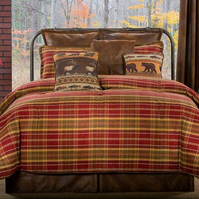 Montana Morning 4 Piece Comforter Set Size: Queen