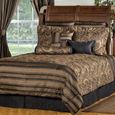 Winslow 4 Piece Comforter Set Size: King