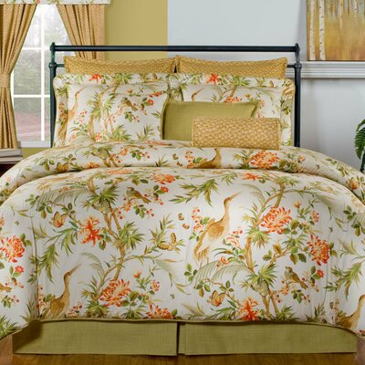 St. Lucia 4 Piece Comforter Set Size: King