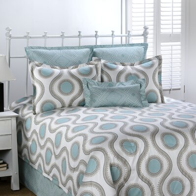 Viola 4 Piece Comforter Set Size: Queen