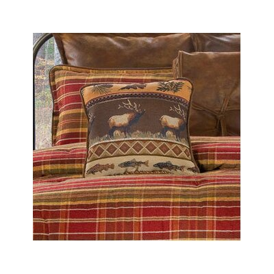 Montana Morning Throw Pillow