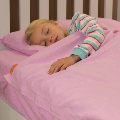 Flannel Kids Sheet Set Size: 75 H x 39 W, Color: Lilac