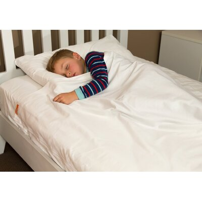 Cotton Kids Sheet Set Color: White, Size: Twin