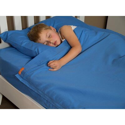 Cotton Kids Sheet Set Size: Twin, Color: Bright Blue