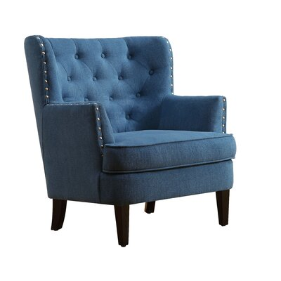 Chrisanna Wingback Chair Upholstery: Teal