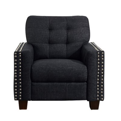 Janousek Armchair Upholstery: Charcoal