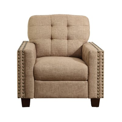 Delicia Armchair Upholstery: Wheat
