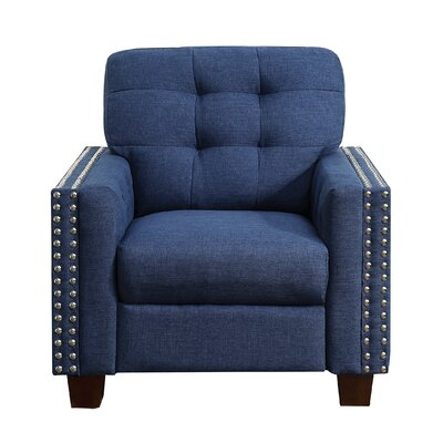 Delicia Arm Chair Upholstery: Classic Navy