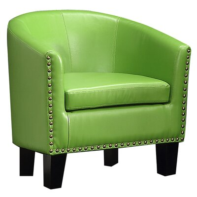 Isabel Barrel Chair Upholstery: Pear Green