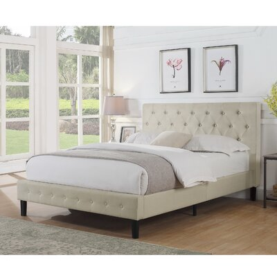 Ciro Upholstered Platform Bed Size: Full, Color: Charcoal