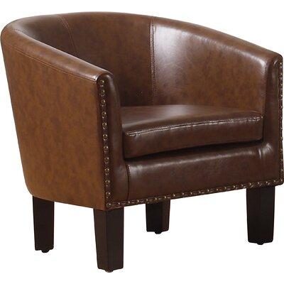 Isabel Barrel Chair Upholstery: Vintage Cafe