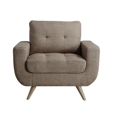 Clementina Armchair Upholstery: Wheat
