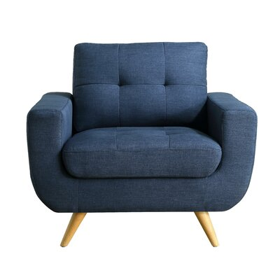 Clementina Armchair Upholstery: Classic Navy
