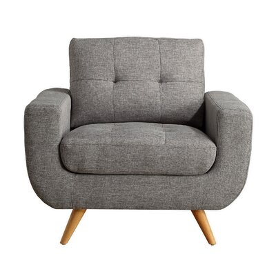 Clementina Armchair Upholstery: Gray