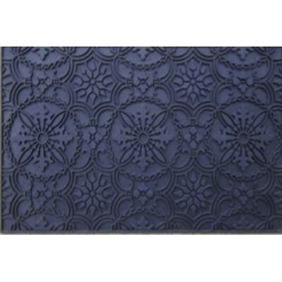 Moroccan Medallion Rubber Doormat