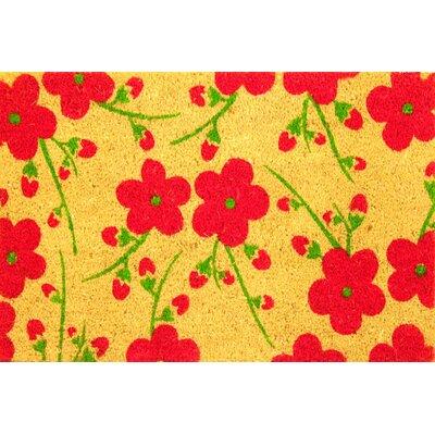 Fleur du Jardin Coir (Coco) Doormat