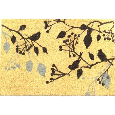 Chirping Birds Coir (Coco) Doormat