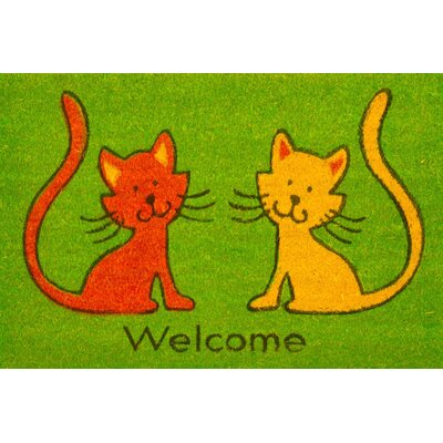 Cats Coir (Coco) Welcome Doormat
