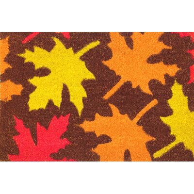 Autumn Leaves Coir (Coco) Doormat