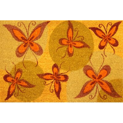 Monarch Butterflies Coir (Coco) Doormat