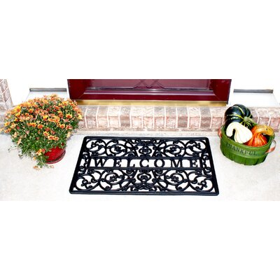 Royal Gate Wrought Iron Rubber Doormat