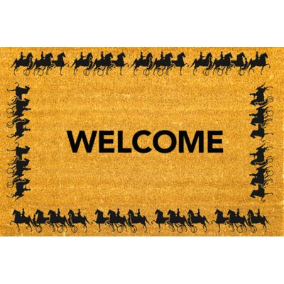 Horse/Carriage Doormat