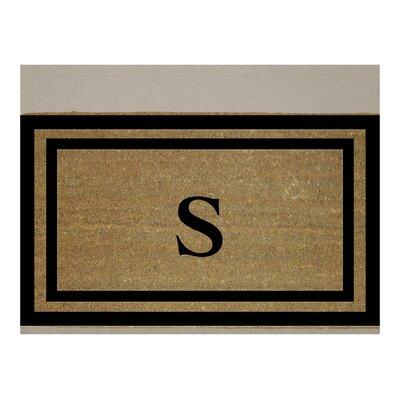 Text Doormat Letter: S