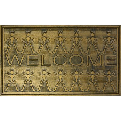 Grasshopper Copper Rubber Doormat