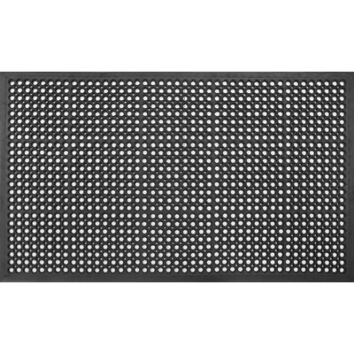 Durable Anti-Fatigue and All Purpose Rubber Doormat Rug Size: 30 x 60
