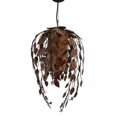 Indian Summer 1-Light Pendant Color: Autumn