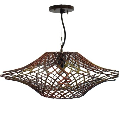 Metal Mesh 1-Light Mini Pendant