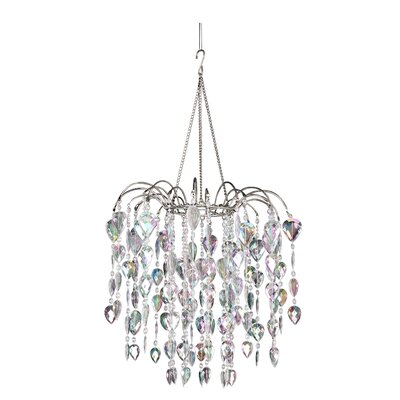 Chatteris 1-Light Crystal Pendant Color: Crystal